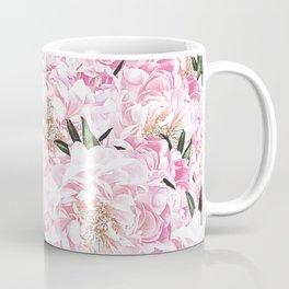Peonies Pattern Coffee Mug