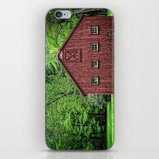Connecticut Barn iPhone & iPod Skin