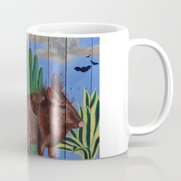 Javelina on Pallet Coffee Mug