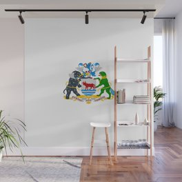 flag of Oxford Wall Mural