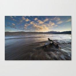 Dunes Morning Canvas Print