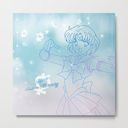 Super Sailor Mercury Metal Print