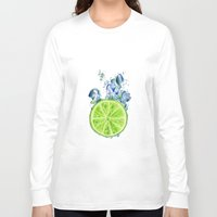 lemon Long Sleeve T-shirts featuring Lemon by jausrine