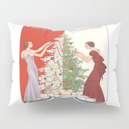 Art Nouvelle Christmas Pillow Sham
