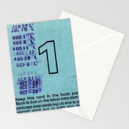 Ilium Public Library Card No. 1 Stationery Cards
