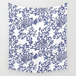 Porcelaine dreams Wall Tapestry