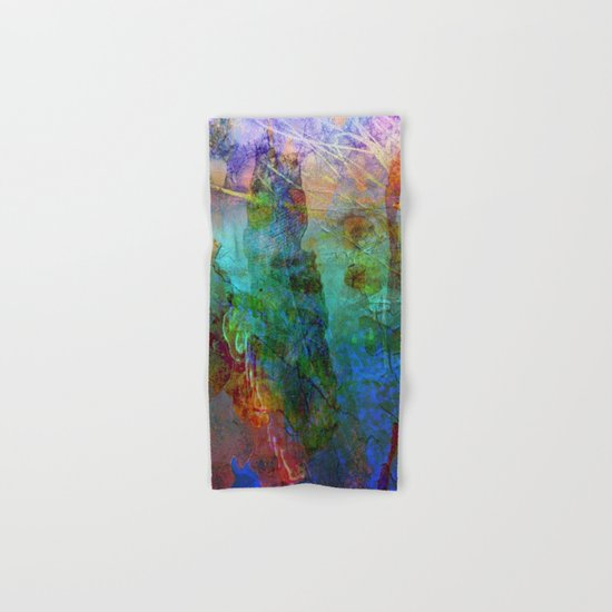 Abstract Texture 05 Hand & Bath Towel