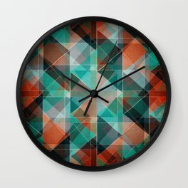Oxidation Wall Clock