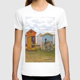 Beach huts T-shirt