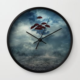 Rise me Up Wall Clock