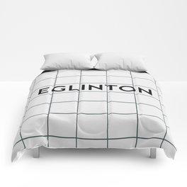 EGLINTON | Subway Station Comforters