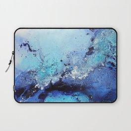 Bermuda Paradise Mixed Media Painting Laptop Sleeve