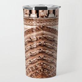 Notre Dame Mural Travel Mug