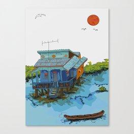 Maison 1998 Canvas Print
