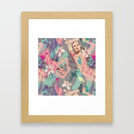 Flaming O's Framed Art Print