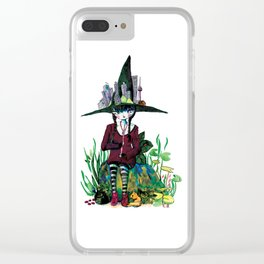 Seoul witch Clear iPhone Case