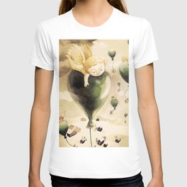 Angel with balloons  T-shirt