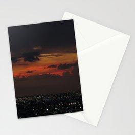 A Sky On Fire Stationery Cards