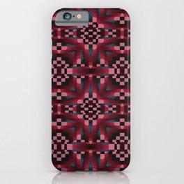 Indian Blanket Wine iPhone Case