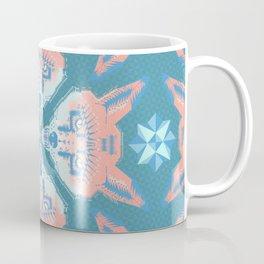 Pastel Fox Pattern Coffee Mug