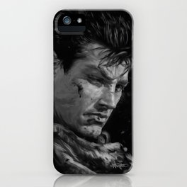 The Black Swordsman iPhone Case