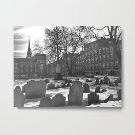 Copp's Hill Burying Ground (2) Metal Print