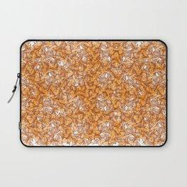 Trompe-l'œil - Starfruit vs. Autumn Laptop Sleeve