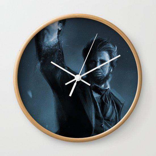 ABE THE HUNTER Wall Clock