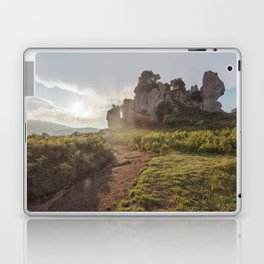 Megalith at sunset Laptop & iPad Skin