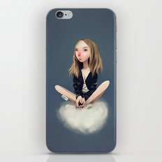 Stay Still iPhone & iPod Skin