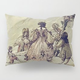 """The Fairies Ascent"" by A. Duncan Carse Pillow Sham"