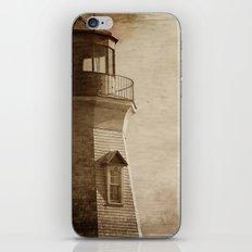 Sepia Light House iPhone & iPod Skin