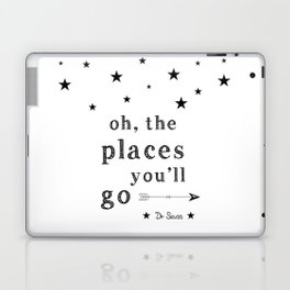 Oh the places you'll go - Dr Seuss Laptop & iPad Skin
