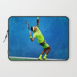 Del Potro Tennis Serve Laptop Sleeve