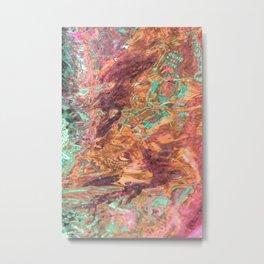 Water art 17 Metal Print