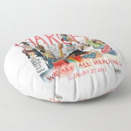 Women's March 2017 Floor Pillow