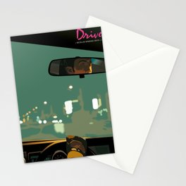 Drive movie poster Stationery Cards