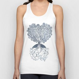 Grounded Tree Unisex Tank Top
