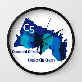 C5 Concerned Citizens of Charles City County Wall Clock