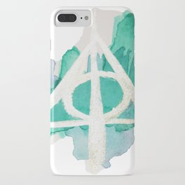 Watercolor Hallows iPhone Case