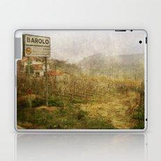 Barolo vineyards, Piedmont, Italy Laptop & iPad Skin