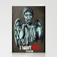 blink 182 Stationery Cards featuring Blink by Remus Brailoiu