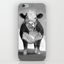Welcome to the Pasture iPhone Skin