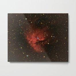 Pacman Nebula (New Elaboration) Metal Print