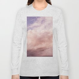 Perfect Pink Summer Sky Nature Photography Long Sleeve T-shirt