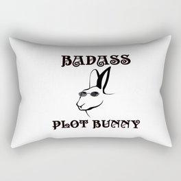 BadAss Plot Bunny Rectangular Pillow