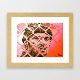 McMurphy - red alert Framed Art Print