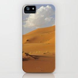 Sahara desert. iPhone Case