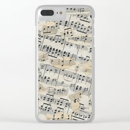 Notes to myself Clear iPhone Case
