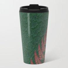 Fall Fern Fractal Travel Mug